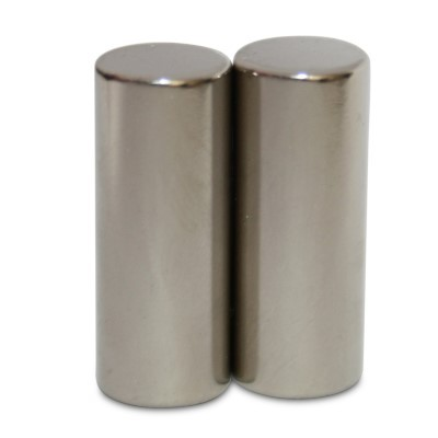 Stabmagnet 10x25 mm N42 Nickel