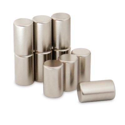Stabmagnet 6x10 mm N42 Nickel