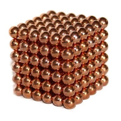 216 Kugelmagnete 5 mm Kupfer
