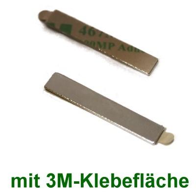 20 Quadermagnete 30x5x1 mm selbstklebend