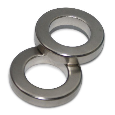 Ringmagnet 40x23x6 mm N42 Nickel