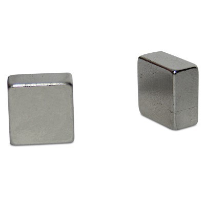 Quadermagnet 10x10x5 mm N42 Nickel