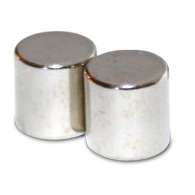 Stabmagnet 15x15 mm N42 Nickel