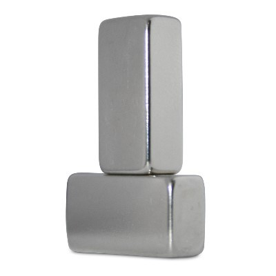 Quadermagnet 19x9,5x6 mm N42 Nickel