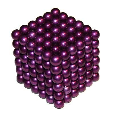 216 Kugelmagnete 5 mm violett zum Toppreis