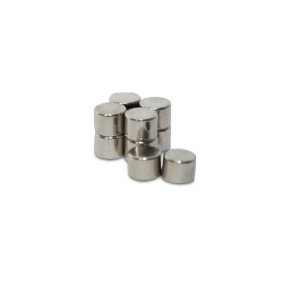 Scheibenmagnet 4x3 mm N45 Nickel
