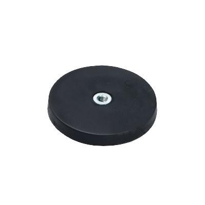 Magnetsystem gummiummantelt 43 mm mit Innengewinde