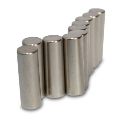 Stabmagnet 5x15 mm N45 Nickel