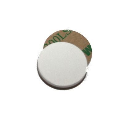 Metallscheibe 20 mm selbstklebend weiß