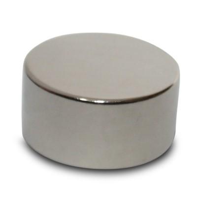 Scheibenmagnet 30x10 mm N45 Nickel