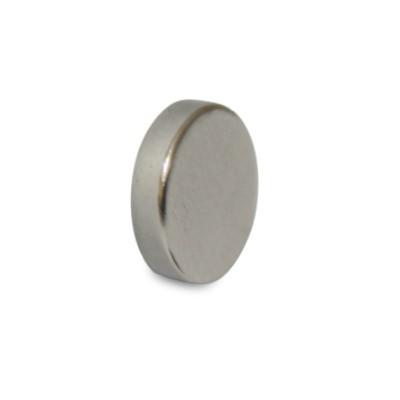 Scheibenmagnet 20x3 mm N45 Nickel