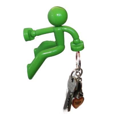 Klettermaxe: Schlüsselhalter grün