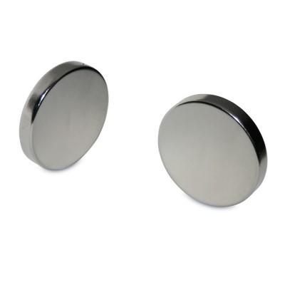 Scheibenmagnet 30x5 mm N45 Nickel