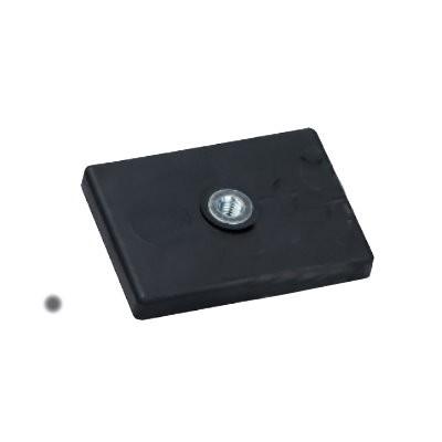 Magnetsystem gummiummantelt 43x31 mm mit Innengewinde