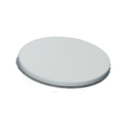 Metallscheibe 40 mm selbstklebend weiß
