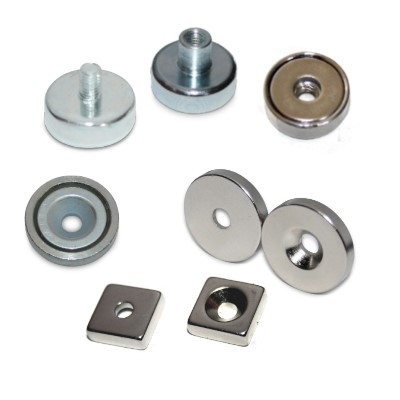 Testpaket 6: Magnete zur Verschraubung