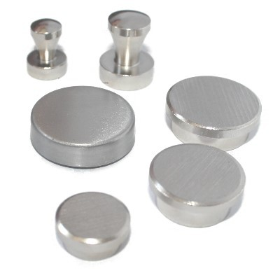 Testpaket 11: Pinnwandmagnete Stahl, 6 Stück