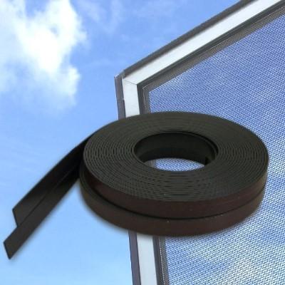 Magnetband mit Klebefläche, Typ A und B, je 6 m