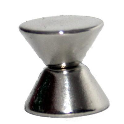 Konusmagnet 10-5x5 mm N45 Nickel