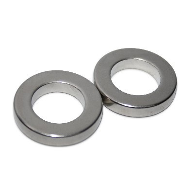 Ringmagnet 27x16x5 mm N42 Nickel
