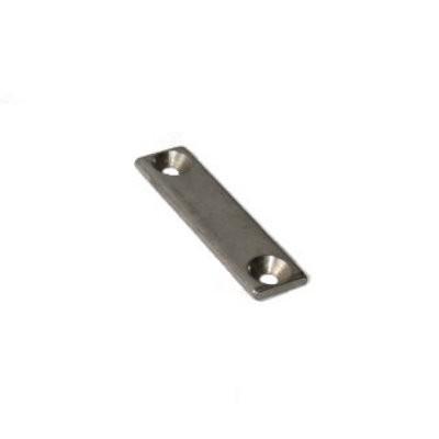 Metallleiste 50x10x3 mm - Gegenplatte, kein Magnet