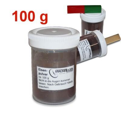 Eisenpulver, 100 g in Schüttdose