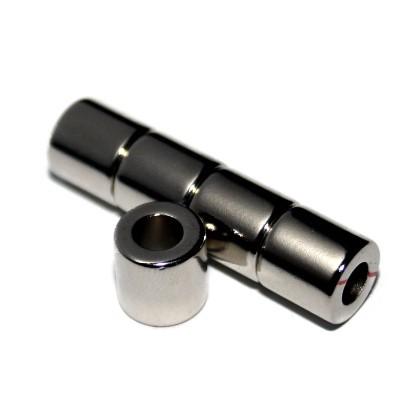 Ringmagnet 10x5x10 mm N42 Nickel