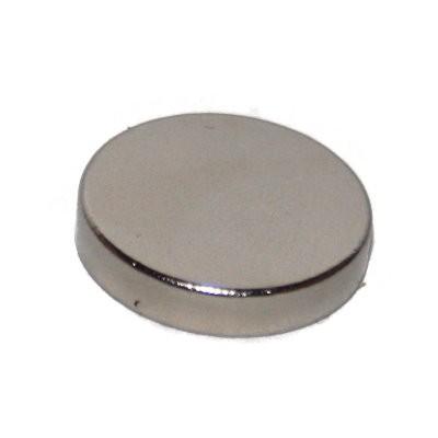 Scheibenmagnet 15x3 mm SmCo vernickelt
