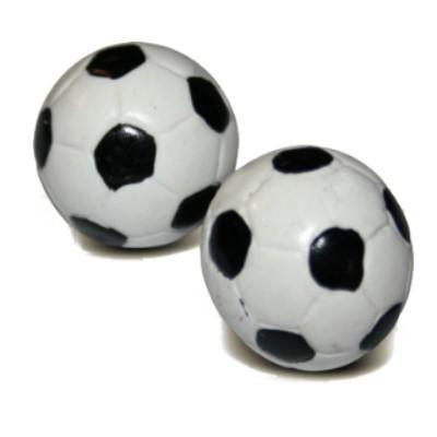 2-tlg. Set: Fußball 24 mm