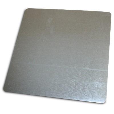 Metallplatte 245x245 mm
