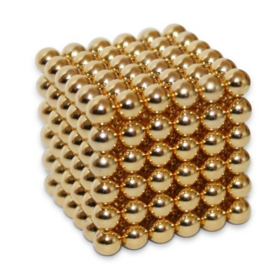 216 Kugelmagnete 5 mm Gold