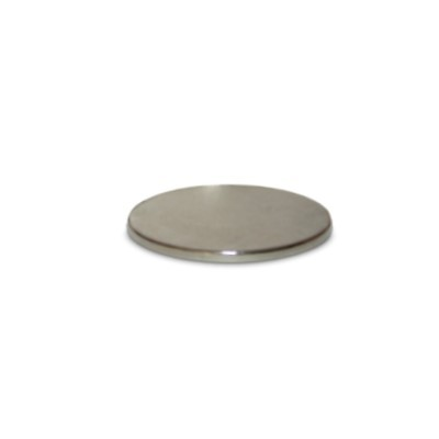 Scheibenmagnet 20x1 mm N45 Nickel