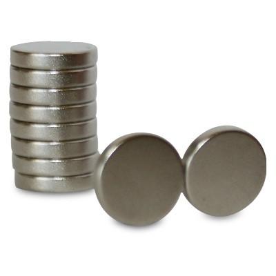 Scheibenmagnet 10x2 mm N42 Nickel