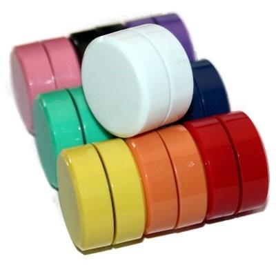 Kunststoffmagnet 40 mm Ferrit, 10 Farben wählbar