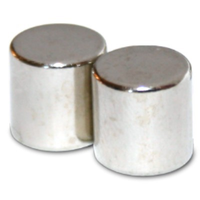 Stabmagnet 20x20 mm N42 Nickel