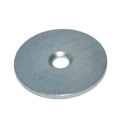Metallscheibe 34 mm mit Bohrung und Senkung