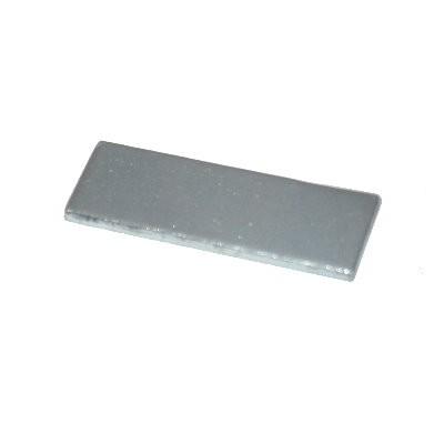 Metallgegenstück 40x20x1,5 mm verzinkt