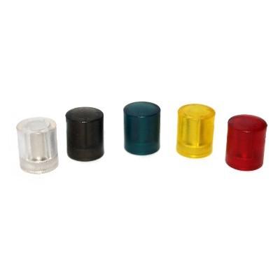 Kunststoffmagnet 14 mm Neodym in 5 Farben extra stark
