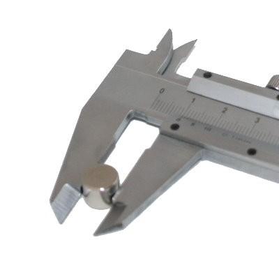 Scheibenmagnet 10x8 mm N42 Nickel