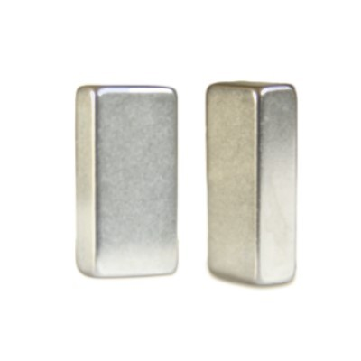 Quadermagnet 20x10x5 mm N45 Nickel