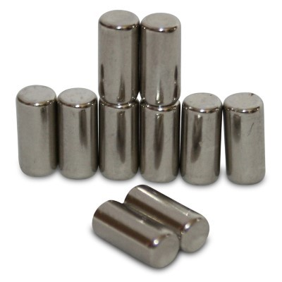 Stabmagnet 4x8,47 mm N45 Nickel