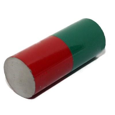 Stabmagnet 20x50 mm Al5 rot-grün