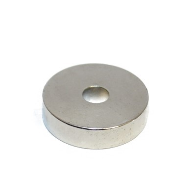 Ringmagnet 20x5x5 mm N42 Nickel