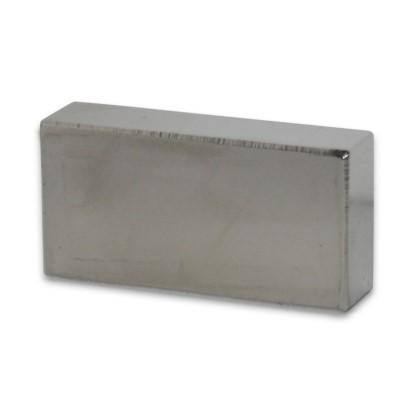 Quadermagnet 40x20x10 mm N42 Nickel