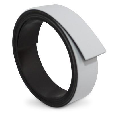 Magnetband 15 mm weiß