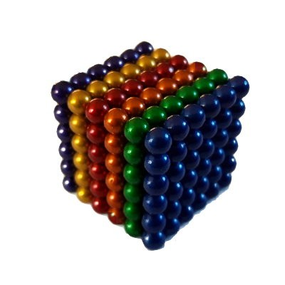 216 Kugelmagnete 5 mm 6-farbig zum Toppreis