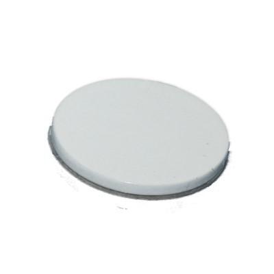 Metallscheibe 30 mm selbstklebend weiß