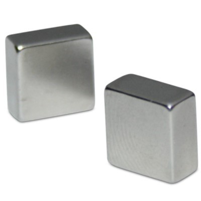 Quadermagnet 15x15x8 mm N40 Nickel