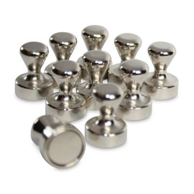 10 Griffmagnete 12x16 mm Neodym mit Metallgehäuse