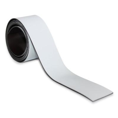 Magnetband 30 mm weiß